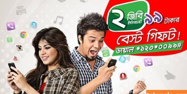 Robi 2GB Offer 99Tk,Activation Step