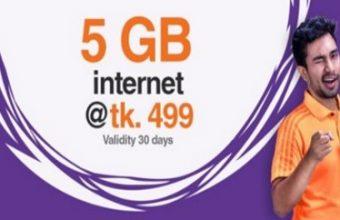 Banglalink 5GB 499Tk Offer
