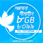 GP 8GB Internet 399Tk For Victory Day Offer