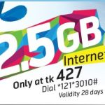 GP 2.5GB Internet 427Tk Offer