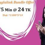 Banglalink 75 Minute 24Tk Offer