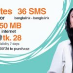 Banglalink 28Tk Bundle Offer-36Minutes, 36SMS & 150MB Internet