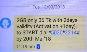 GP 2GB 36Tk