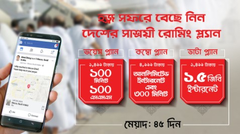 Robi Haji Roaming Offer