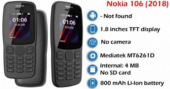 Nokia 106 BD Price