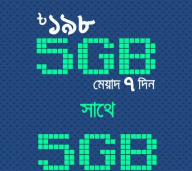 GP 10GB 198Tk