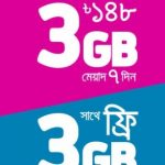 GP 6GB 148Tk Internet Package