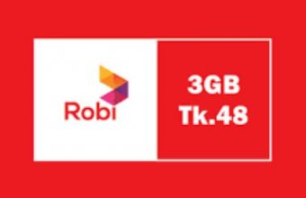 Robi Intenet Offer 3GB 48Tk Activate Process