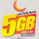 Banglalink Eid Offer 5GB Internet 89Tk