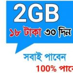 GP 2GB 18Tk Internet Offer