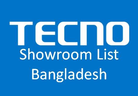 Techno Showroom List Bangladesh
